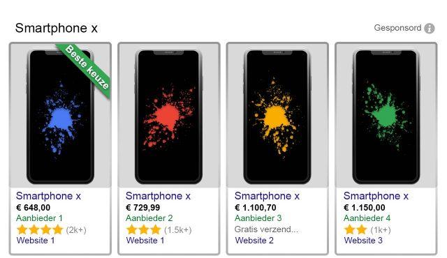 google-shopping-voorbeeld-smartphones